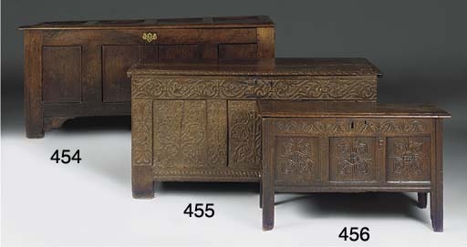 A West Country oak chest
