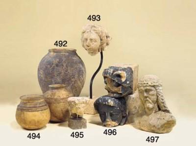 A Mediaeval sculpted stone cor