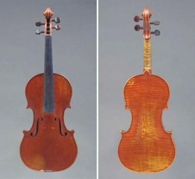 A Violin, workshop of Paul Bai