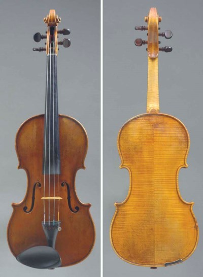 A Violin by Johannes Cuypers,