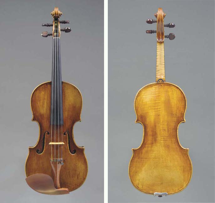 A Violin attributed to Alessan
