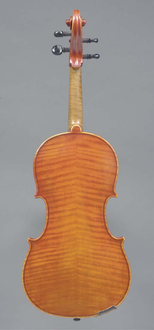A Viola probably by Henry Richard Knopf