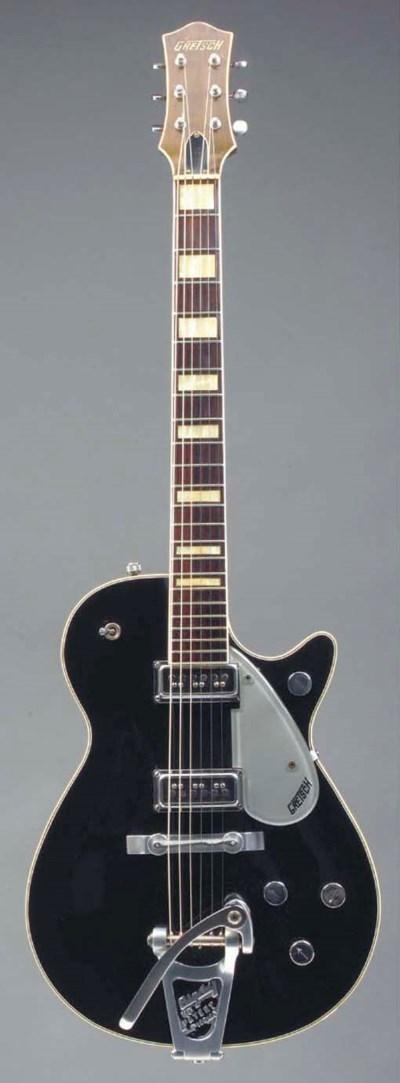 A Duo Jet Guitar by Gretsch, B