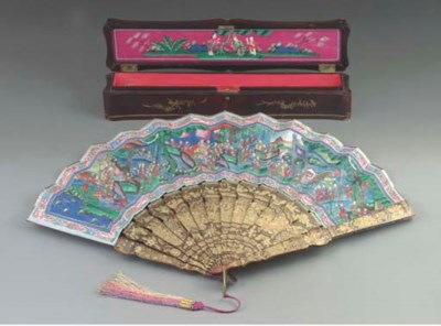 A Chinese export lacquer and p