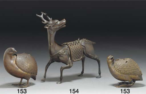 A Japanese bronze koro and cov