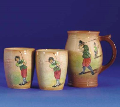 A ROYAL DOULTON KINGS WARE MUG