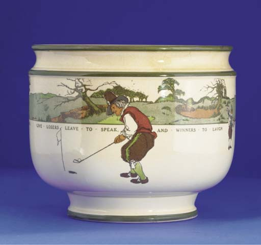 A ROYAL DOULTON SERIES WARE JA