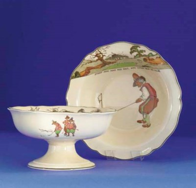 A ROYAL DOULTON SERIES WARE FR