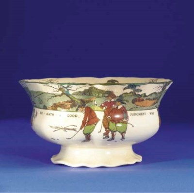 A ROYAL DOULTON SERIES WARE PU