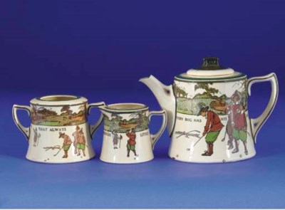 A ROYAL DOULTON SERIES WARE TH