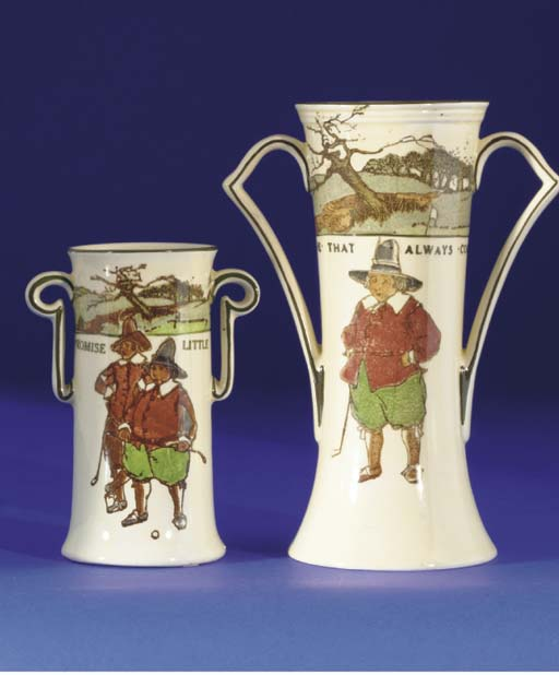A ROYAL DOULTON SERIES WARE TW