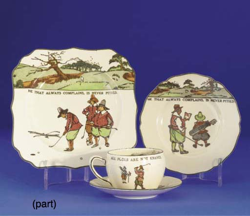 A ROYAL DOULTON SERIES WARE CU