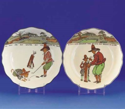 A ROYAL DOULTON SERIES WARE DI