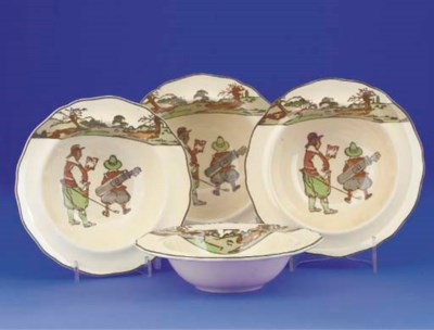 FOUR ROYAL DOULTON SERIES WARE