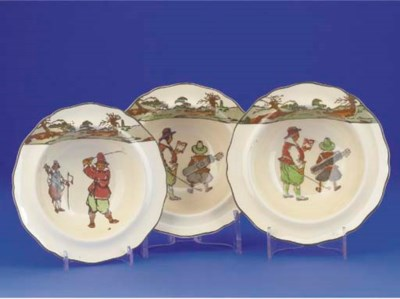 THREE ROYAL DOULTON SERIES WAR