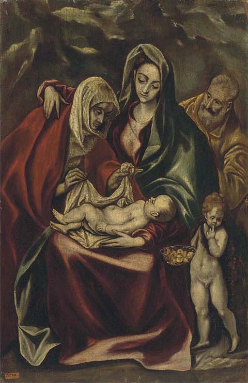 Follower of Doménikos Theotokópoulus, El Greco