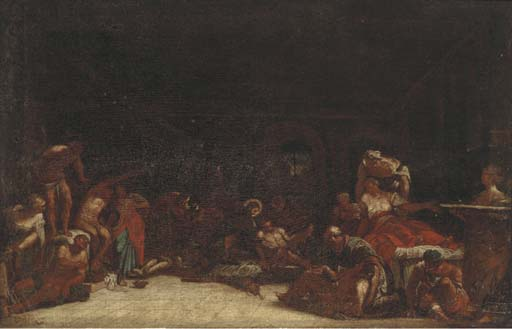 Circle of Domenico Gargiulo, c