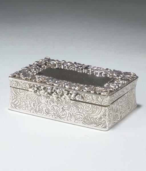 A Victorian snuff box