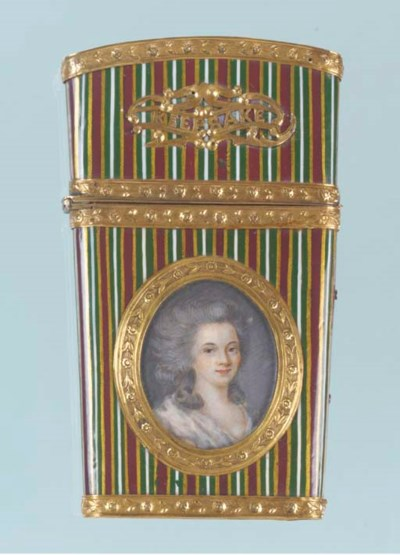 A gilt-metal mounted lacquered