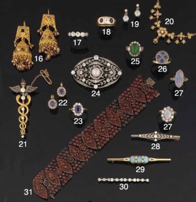 Two gem necklaces