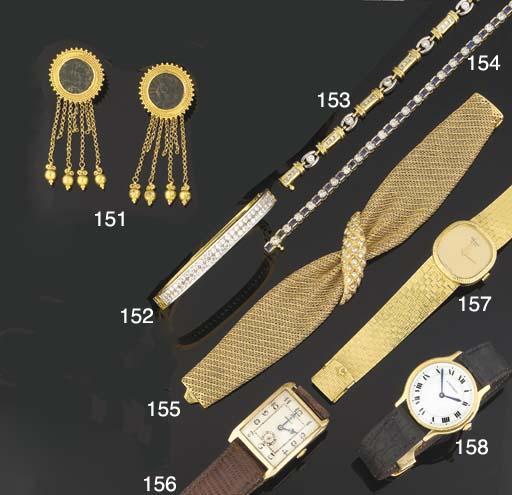 A lady's wristwatch by Chopard
