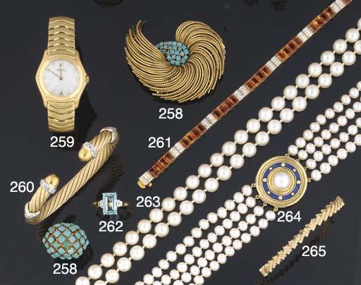 A lady's wristwatch by Ebel