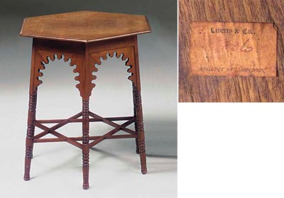 A WALNUT OCCASIONAL TABLE