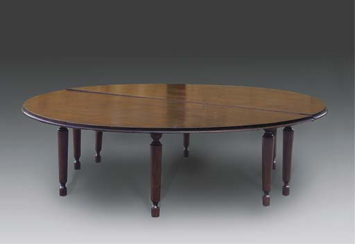 A LARGE EDWARDIAN STAINED PINE
