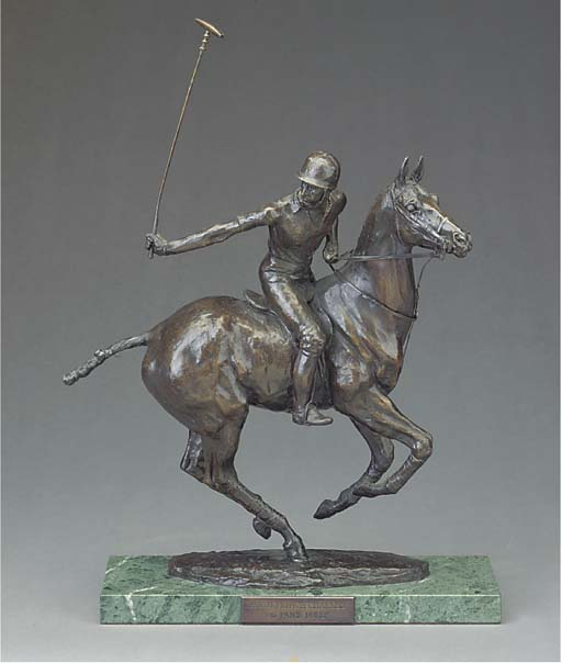 A Royal Worcester bronze of Hi