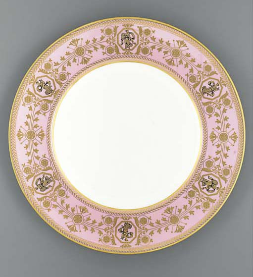 Two Wedgwood plates