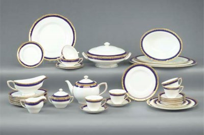 A Royal Worcester 'Aston' patt