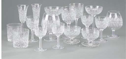 An extensive Tudor Crystal com