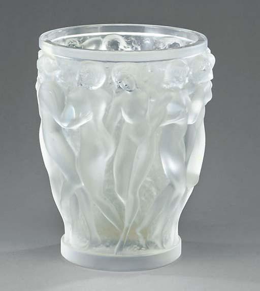 Bacchantes, a Lalique clear an