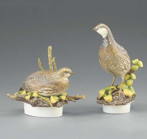 A pair of Royal Worcester limi