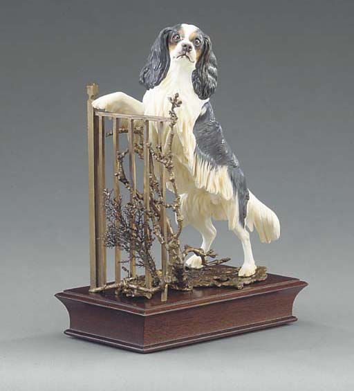 An Albany China model of a Cav