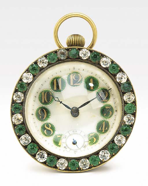 A paste-gem set novelty glass