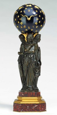 A French bronze, rouge griotte