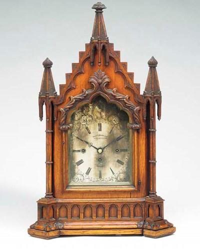 A Victorian large oak quarter-