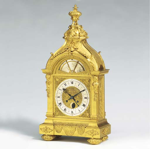 An unusual Napoleon III ormolu
