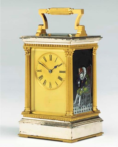 A French Limoges enamel-mounte