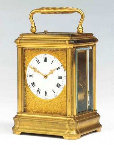 A French giant gilt-brass stri