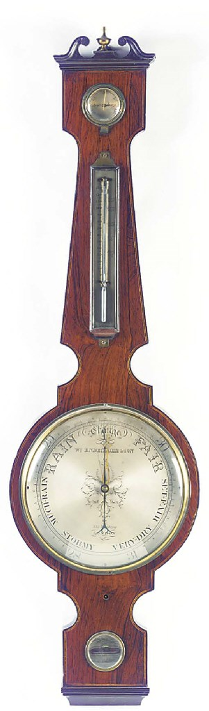 A William IV rosewood and cros