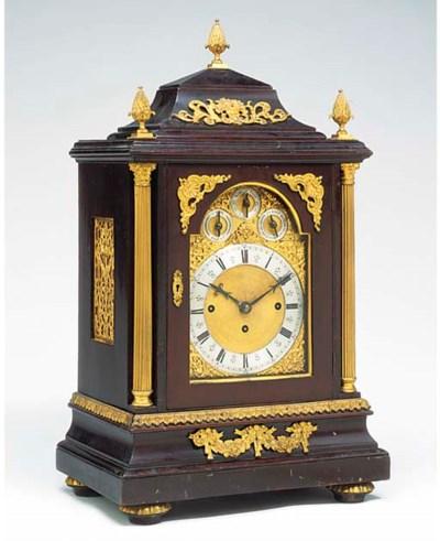 A Victorian gilt-brass mounted