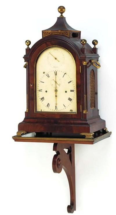 A George III large mahogany an