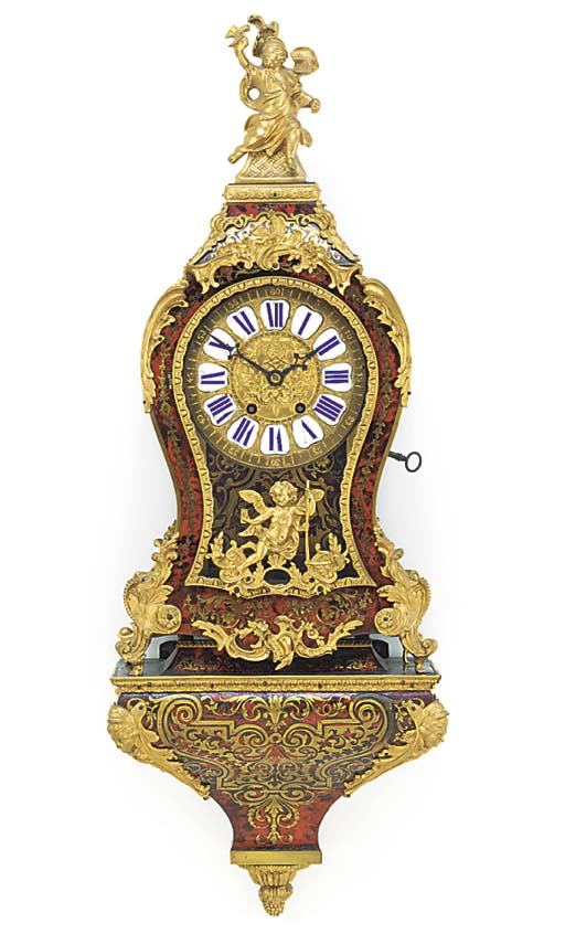 A French ormolu-mounted boulle