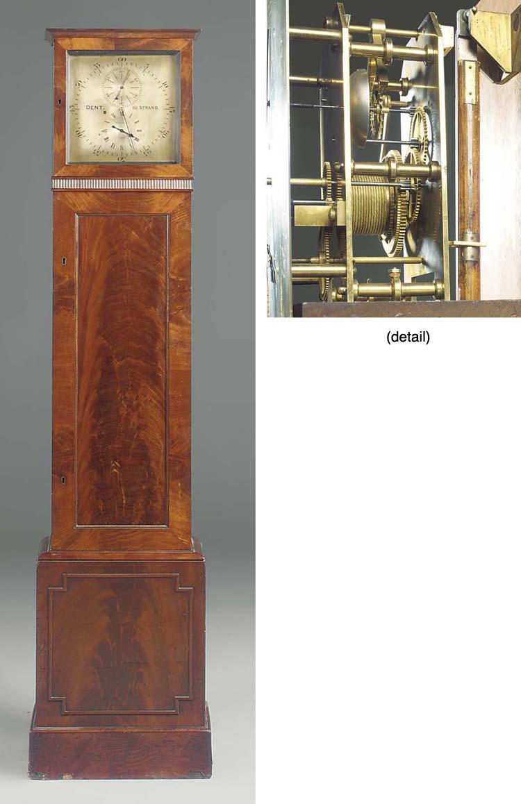 An early Victorian mahogany ob