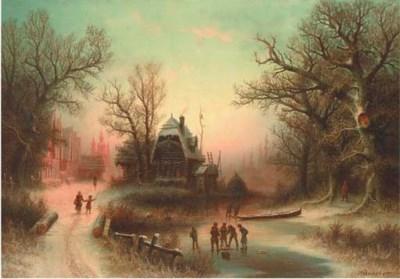 Albert Bredow (German, 1828-18