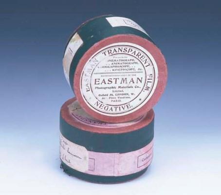 Eastman Transparent Film boxes