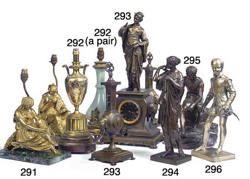A bronze of a Diana de Gabies