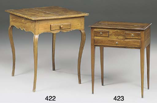 A FRENCH PROVINICIAL FRUITWOOD